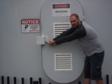 Windgeneratordoor