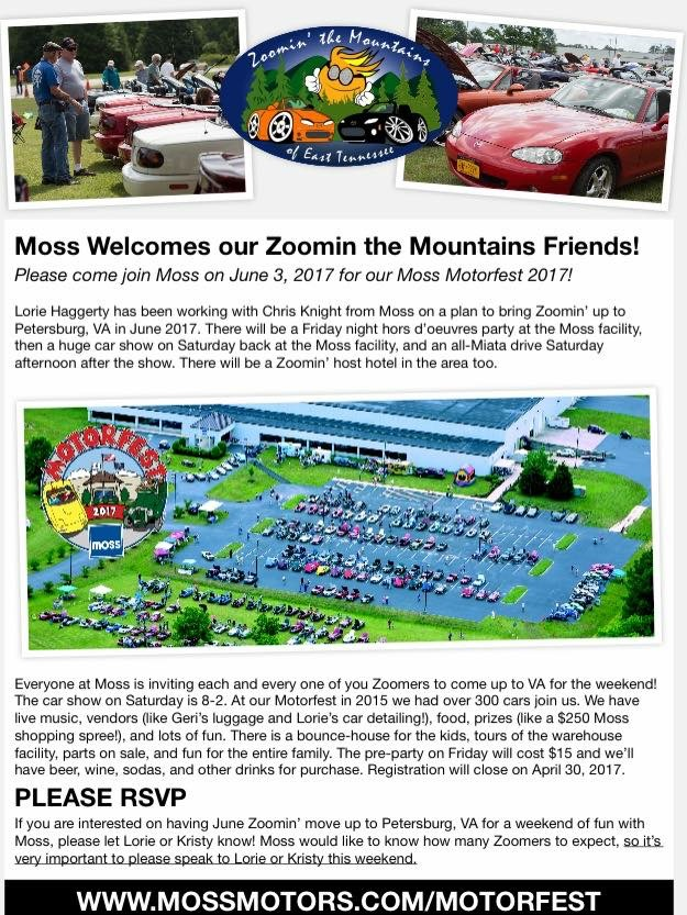 Mass Miata Club 2017 Ztmoet Non Club